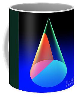 Conic Section Hyperbola 6 Coffee Mug