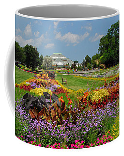 Coffee Mug featuring the photograph Conservatory Gardens by Lynn Bauer