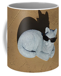 Cool Cat Coffee Mug by Aimee L Maher Photography and Art Visit ALMGallerydotcom