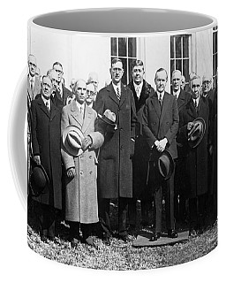Coolidge: Freemasons, 1929 Coffee Mug