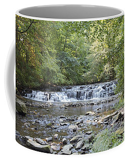 Coffee Mug featuring the photograph Corbetts Glen Waterfall by William Norton