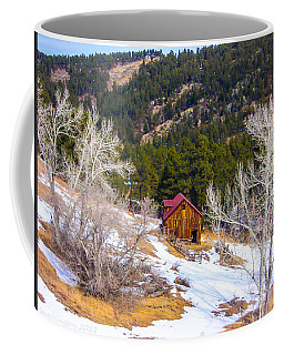 Coffee Mug featuring the photograph Country Barn by Shannon Harrington