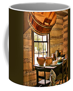 Coffee Mug featuring the digital art Country Kitchen by Mary Almond