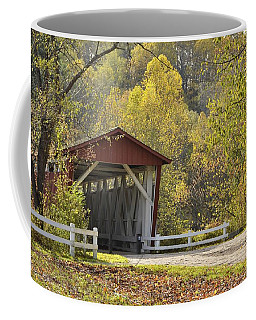 Everett Covered Bridge Coffee Mug by Ann Bridges