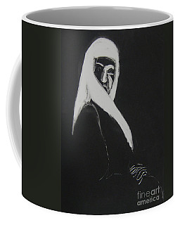 Coffee Mug featuring the drawing Waiting by Gabrielle Wilson-Sealy