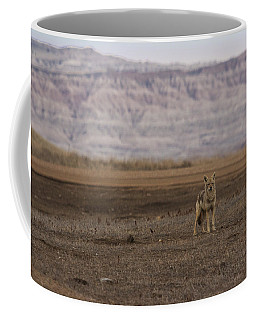 Coyote Badlands National Park Coffee Mug