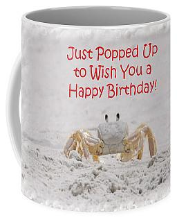 Crab Happy Birthday Coffee Mug