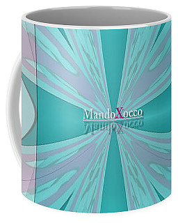 Cream Mint Flow Coffee Mug