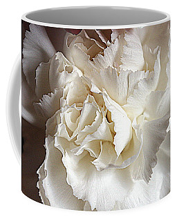 Coffee Mug featuring the photograph Crisp Carnation Photo by Deniece Platt
