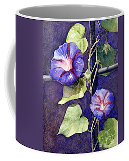 Coffee Mug featuring the painting Cross And Glory by Bonnie Rinier