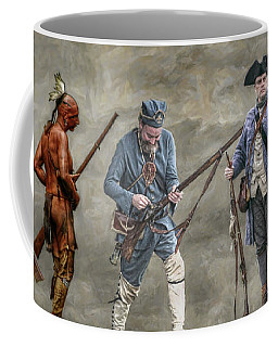 Crossed Paths French And Indian War Coffee Mug