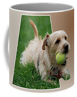 Coffee Mug featuring the photograph Cruz My Ball by Thomas Woolworth