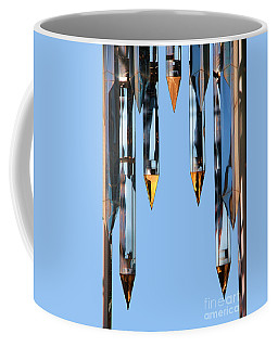 Crystal Cathedral Tower Points Coffee Mug by Mariola Bitner