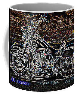 Coffee Mug featuring the photograph Cu Boulder Colorado Nights by Eric Dee