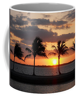 Coffee Mug featuring the photograph Cudjoe Sunrise by Clara Sue Beym