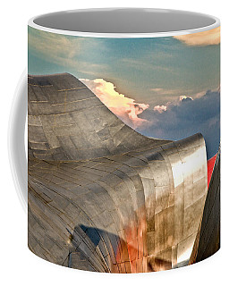 Curves Of Steel Coffee Mug