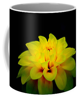 Dahlia Delight Coffee Mug by Jeanette C Landstrom