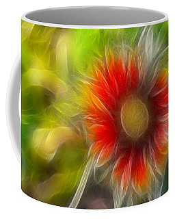 Coffee Mug featuring the photograph Dalia Pseudo Fractal by Lynne Jenkins