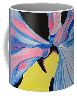 Dancing Petals Coffee Mug by Meryl Goudey