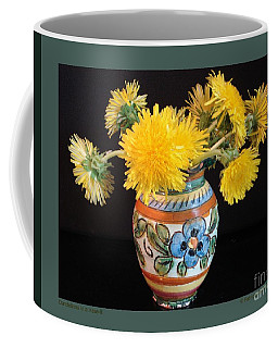 Dandelions In A Vase-ii Coffee Mug