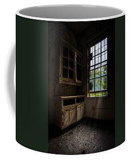 Dark And Empty Cabinets Coffee Mug