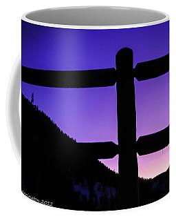 Coffee Mug featuring the photograph Darkening Sky by Shannon Harrington