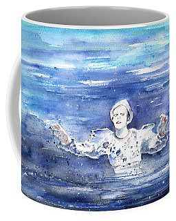 David Bowie In Ashes To Ashes Coffee Mug