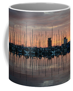 Dawn At The Marina Coffee Mug