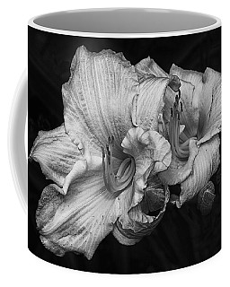 Coffee Mug featuring the photograph Day Lilies by Eunice Gibb