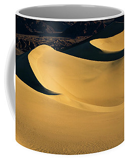 Death Valley And Photographer In Morning Sun Coffee Mug