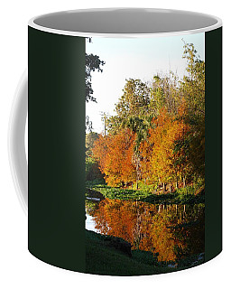 December Morn On Deerfield Creek Coffee Mug