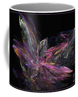 Deep Crystallization - Abstract Art Coffee Mug