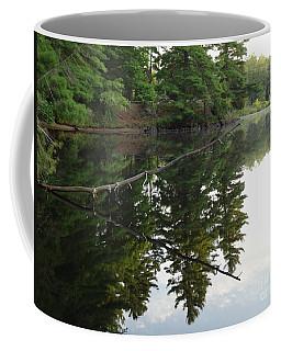 Deer River Reflection Coffee Mug