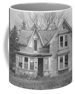 Coffee Mug featuring the photograph Defiance B/w by Bonfire Photography
