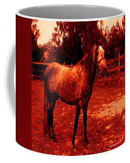 Coffee Mug featuring the photograph Defiance by George Pedro