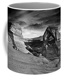 Delicate Arch Bw Coffee Mug