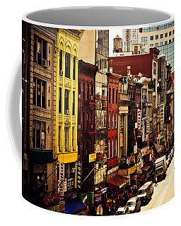 Density - Above Chinatown - New York City Coffee Mug