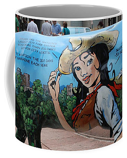 Coffee Mug featuring the photograph Denver by Dany Lison