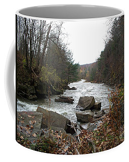 Coffee Mug featuring the photograph Destination Atlantic by Christian Mattison