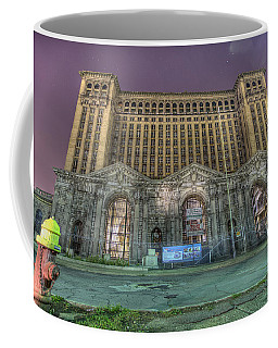 Detroit's Michigan Central Station - Michigan Central Depot Coffee Mug