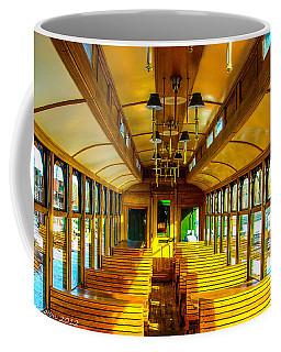 Coffee Mug featuring the photograph Dining Car by Shannon Harrington