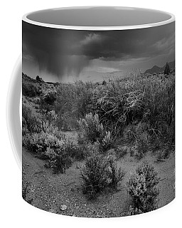 Coffee Mug featuring the photograph Distant Shower by Ron Cline