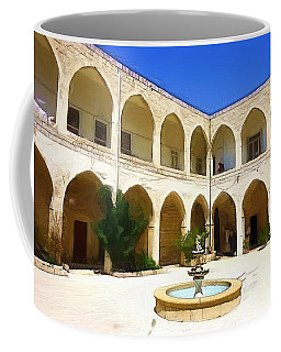 Coffee Mug featuring the photograph Do-00494 Inside Court Saidet El-nourieh by Digital Oil