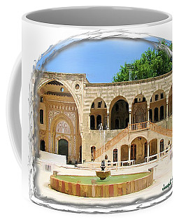Coffee Mug featuring the photograph Do-00522 Emir Bechir Palace by Digital Oil