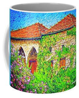 Coffee Mug featuring the photograph Do-00530 Old House by Digital Oil