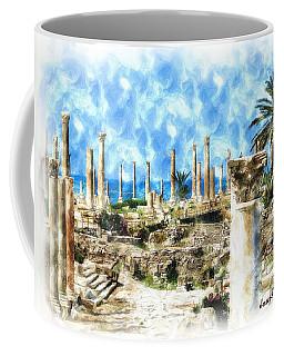 Do-00550 Ruins And Columns Coffee Mug by Digital Oil