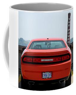 Koolart Ultimate Cartoon Dodge Challenger Hellcat Coffee Mug and Keyring Gift Set