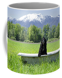 Dog In Bathtub Coffee Mug