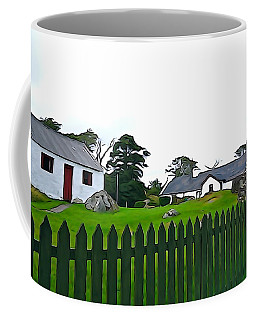 Coffee Mug featuring the photograph Donegal Home by Charlie and Norma Brock