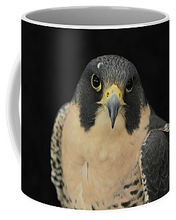 Don't Flinch... I Am Looking At You Coffee Mug by Laddie Halupa